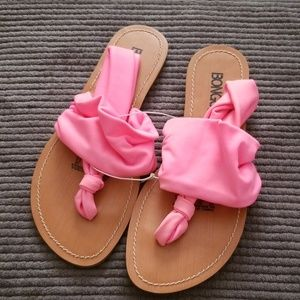 HOT PINK SANDALS NWT